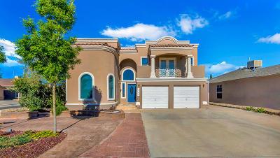 El Paso Single Family Home For Sale: 3144 Tierra Bowles Drive
