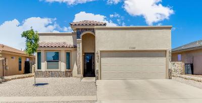 Horizon City Single Family Home For Sale: 13291 Kestrel Avenue