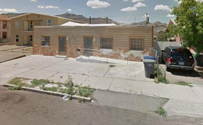El Paso Multi Family Home For Sale: 3617 Hueco Avenue #A &