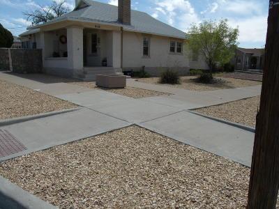 El Paso Single Family Home For Sale: 416 E Baltimore Drive