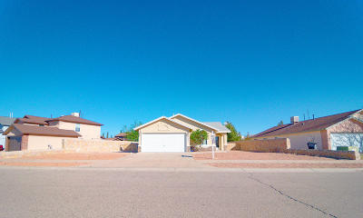 Single Family Home For Sale: 14349 Desert Shadow Drive