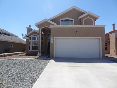 El Paso Rental For Rent: 5472 Santiago Roque Drive