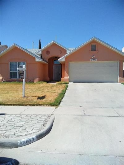 El Paso Rental For Rent: 12073 El Greco Circle