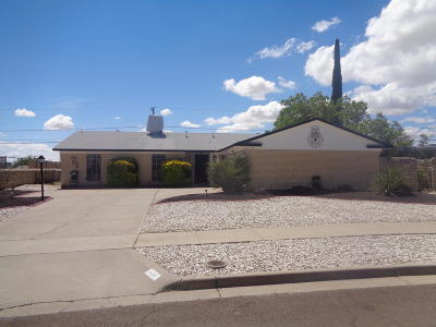 El Paso Single Family Home For Sale: 10190 Galahad Way