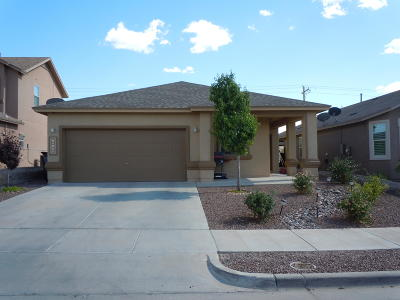 Horizon City Single Family Home For Sale: 13148 Saker Drive