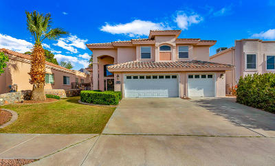 El Paso Single Family Home For Sale: 922 Via Monte