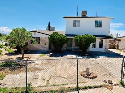 El Paso Single Family Home For Sale: 8001 Valle Placido Drive