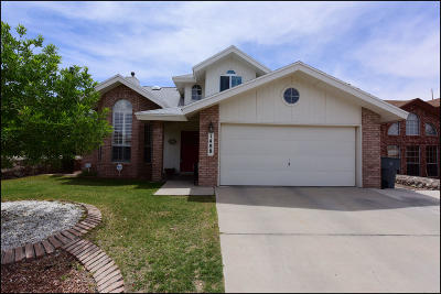 El Paso Single Family Home For Sale: 1488 Plaza Verde Drive