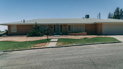 Single Family Home For Sale: 4001 Santa Anita Drive