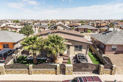 Horizon City Single Family Home For Sale: 14317 Desierto Bello Avenue