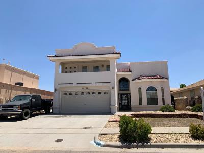 El Paso Single Family Home For Sale: 12304 Tierra Arroyo Drive