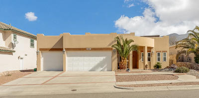El Paso Single Family Home For Sale: 6399 Franklin View Drive