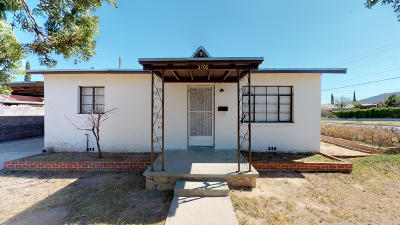 Single Family Home For Sale: 3700 Harrison Avenue