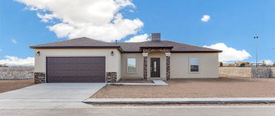 San Elizario Single Family Home For Sale: 13894 Janelle Lynne Circle