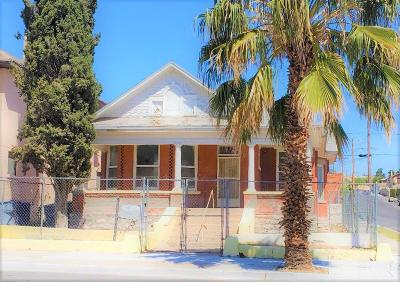 El Paso Single Family Home For Sale: 1031 Arizona Avenue