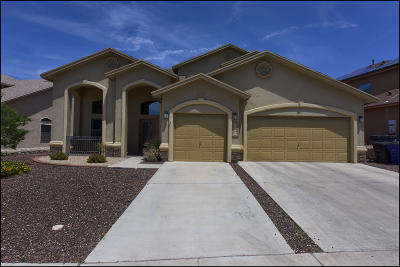 El Paso Single Family Home For Sale: 7275 Camino Del Sol Drive