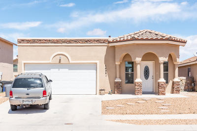 El Paso Single Family Home For Sale: 14541 Jesus Almeida