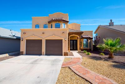 El Paso Single Family Home For Sale: 12517 Arrow Weed