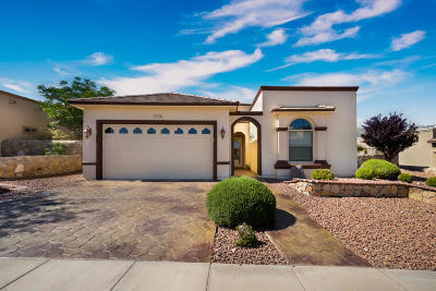 El Paso Single Family Home Pending Accepting Offers: 7356 Black Mesa Drive
