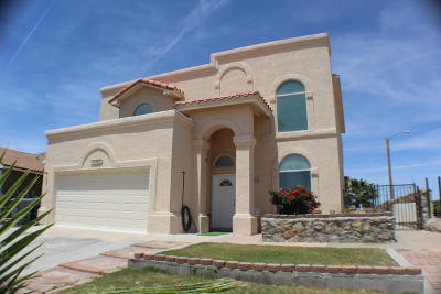 El Paso Single Family Home For Sale: 12247 Tierra Baja Way