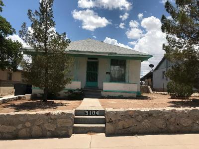 El Paso Single Family Home For Sale: 3104 Frankfort Avenue