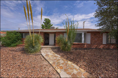 El Paso Single Family Home For Sale: 101 Clairemont Road