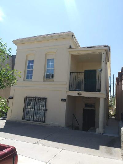 Multi Family Home For Sale: 1116 San Antonio Avenue