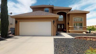 El Paso Single Family Home For Sale: 6136 Los Fuentes Drive