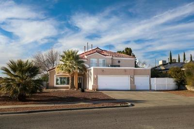 El Paso Single Family Home For Sale: 1145 Regal Ridge Drive