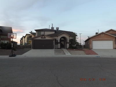 El Paso Single Family Home For Sale: 4056 Tuscan Rose Lane