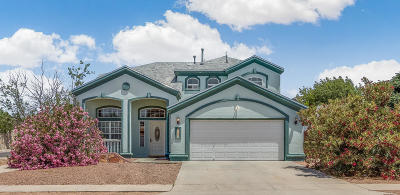 El Paso Single Family Home For Sale: 3136 Tierra Lima Drive