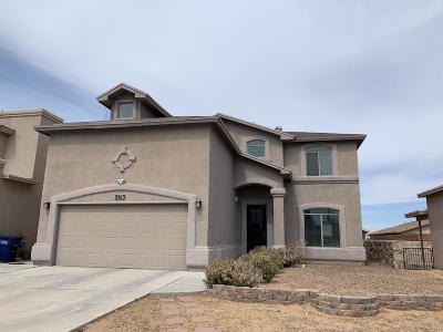 El Paso Single Family Home For Sale: 2613 Snowy Rock Place