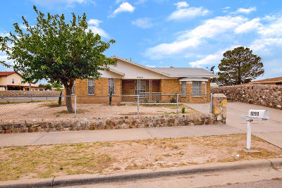 El Paso Single Family Home For Sale: 9298 Morelia Road