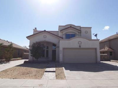 El Paso Single Family Home For Sale: 1295 Hidden Bend Place