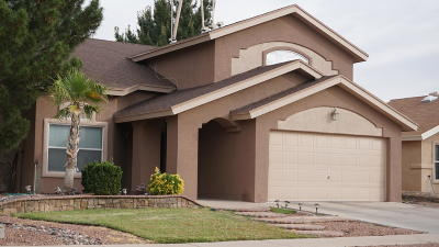 El Paso Single Family Home For Sale: 12753 Tierra Pueblo Drive