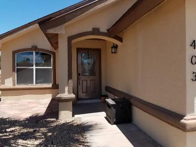 Socorro Single Family Home For Sale: 403 Wisconsin Court