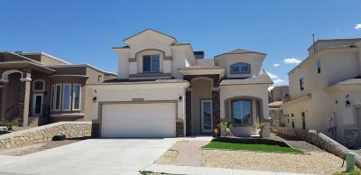 Canutillo Single Family Home For Sale: 7828 Enchanted View Drive