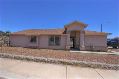El Paso Single Family Home For Sale: 12701 Lorenzo Frias