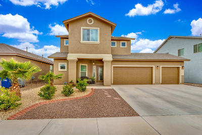 El Paso Single Family Home For Sale: 12620 Azulejos