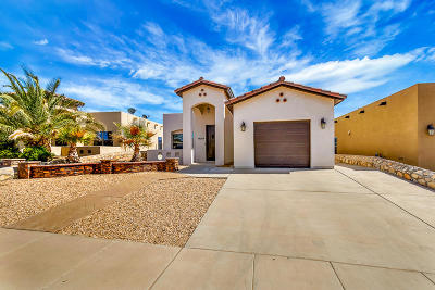 El Paso Single Family Home For Sale: 14208 Poets Rock Lane