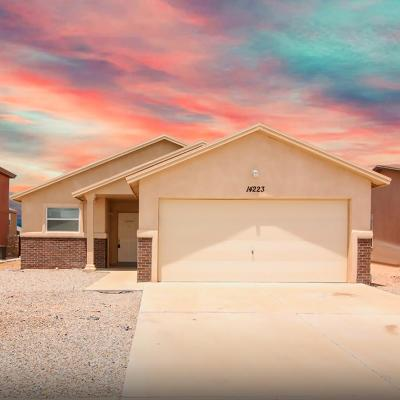 El Paso Single Family Home For Sale: 14223 Poets Rock Lane