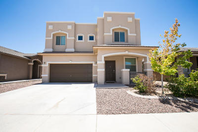 El Paso Single Family Home For Sale: 14452 Johnny Mata Drive