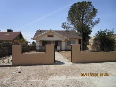 El Paso Single Family Home For Sale: 4014 Morehead Avenue