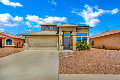 El Paso Single Family Home For Sale: 3236 Derby Point Dr Drive