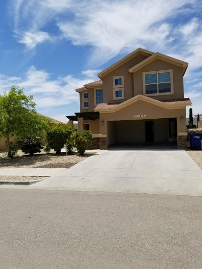 El Paso Single Family Home For Sale: 3157 Hidden Creek Drive