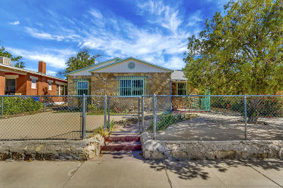 El Paso Single Family Home For Sale: 3031 Wyoming Avenue