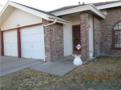 El Paso Rental For Rent: 1755 Judith Resnik Drive