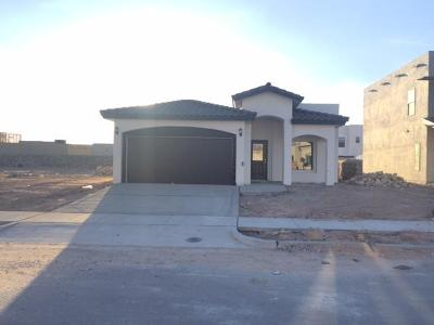 El Paso Single Family Home For Sale: 6088 Rivet Place