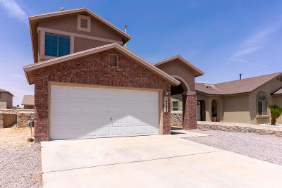 El Paso Single Family Home For Sale: 14269 Lasso Rock Drive