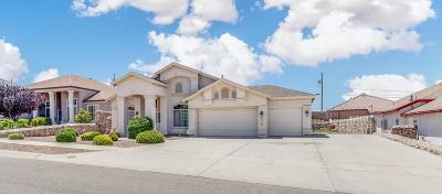 Canutillo Single Family Home For Sale: 516 La Florida Drive